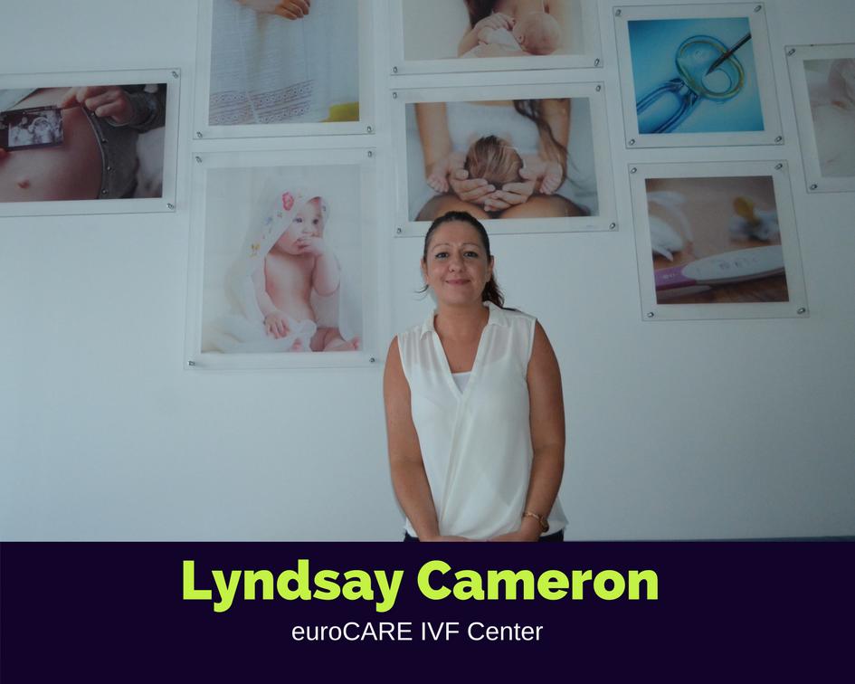 ليندزي كاميرون , ـ منسقة المرضى الدوليين